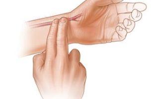 Как правильно самостоятельно измерить пульс на руке.